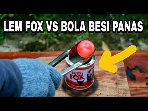 EKSPERIMEN Lem Fox VS Bola Besi Panas..