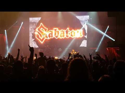 Sabaton - Intro + Ghost Division LIVE 2017 (Bratislava)