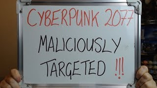 "CYBERPUNK 2077 Maliciously Targeted by ""Woke Media"" !!"