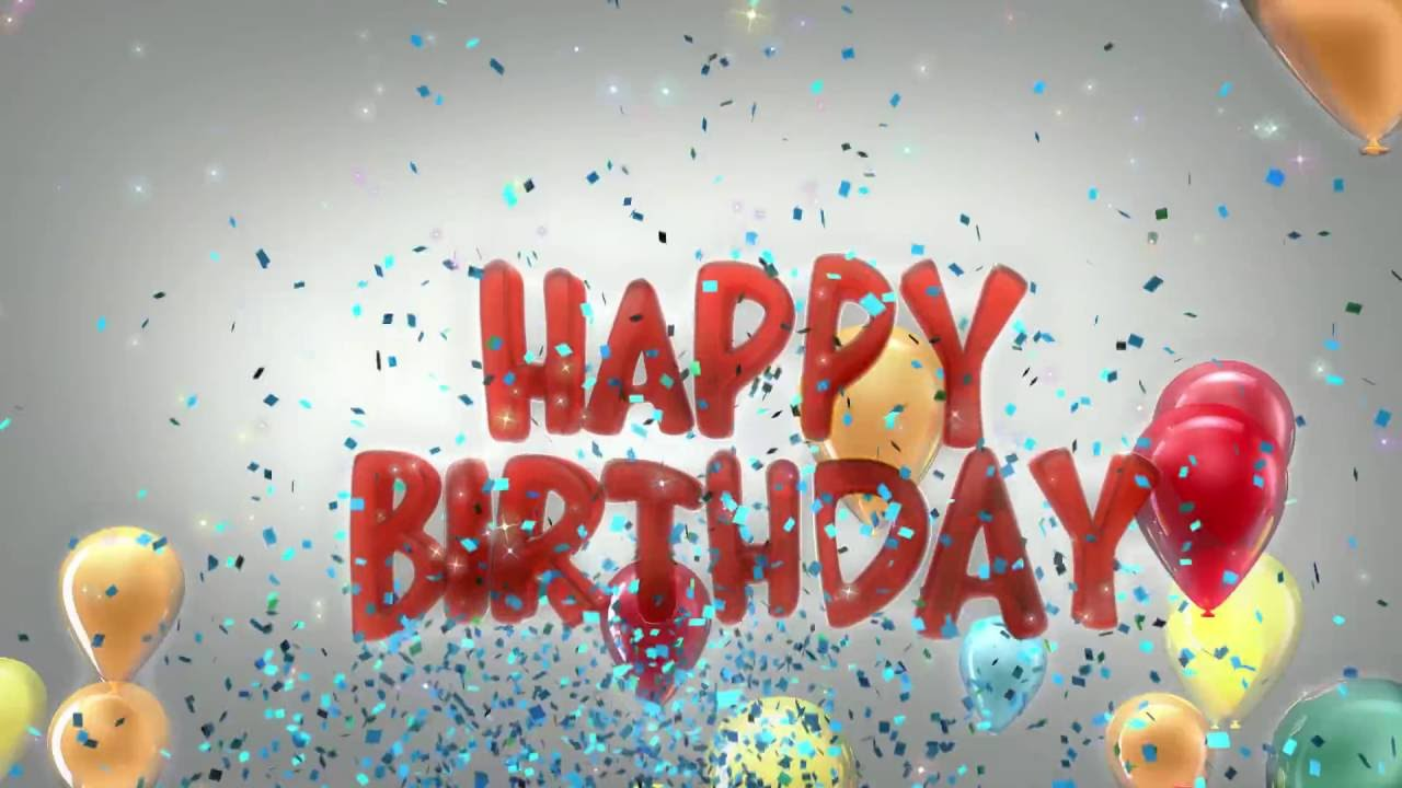 Happy birthday celebration song youtube