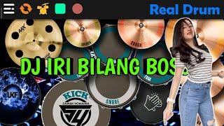 Download DJ IRI BILANG BOSS - BALE BALE || REAL DRUM COVER