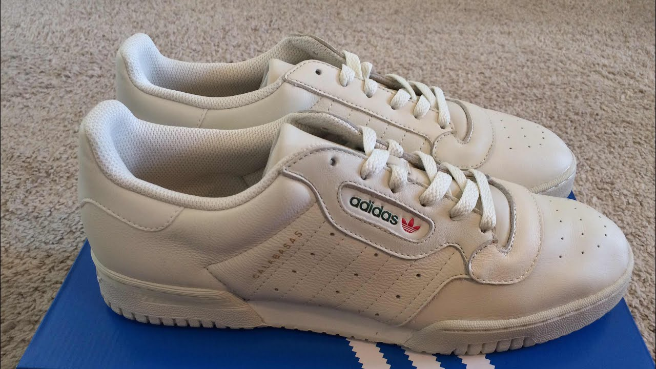 Adidas Yeezy Powerphase Unboxing - YouTube d8ca19413