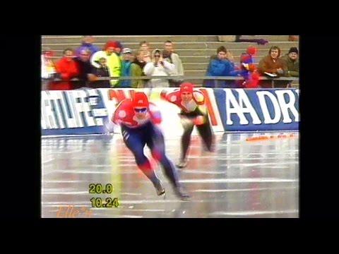 World Championships Sprint Oslo 1992 - 500 m Jansen - Zinke