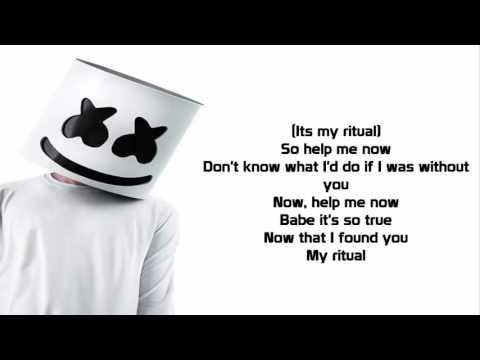 Marshmello - Ritual Ft. Wrabel (Lyrics Video)
