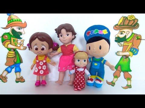 Pepee ve Niloya çizgi film bebeği Heidi ile Hacivat ve Karagöz gösterisi- Niloya Karagöz ile Hacivat