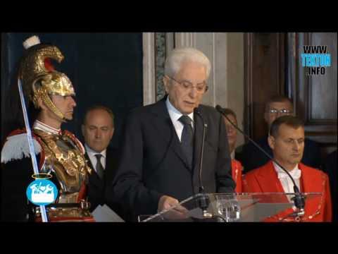 Discurso Papa Francisco en visita al presidente de la República Italiana. 10 de junio de 2017