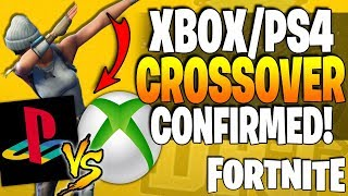 *NEW* Fortnite - XBOX Vs PLAYSTATION CROSSOVER! - How To Crossover - All Details - Fortnite BIG News