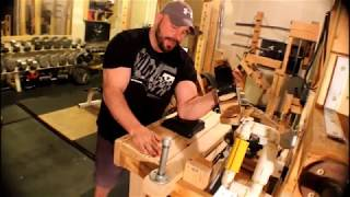 THE most custom self-made Armwrestling equipment EVER built.