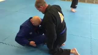 Deep Half-Guard Entry from Sitting Guard