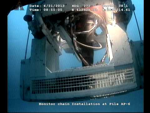 SATURATION DIVING, ROV RECORDED