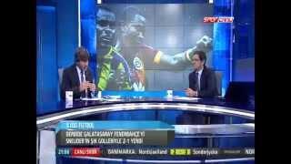 Galatasaray 2-1 Fenerbahçe Yüzde Yüzde Futbol 18 Ekim 2014 PART 1