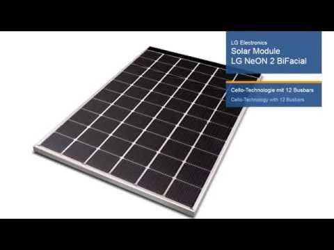 Intersolar AWARD 2016 Winner - LG Electronics Deutschland GmbH: Solar Module LG NeON 2 BiFacial