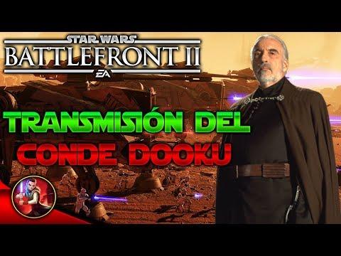 CONDE DOOKU Transmisión,Habilidades,Skins etc - Noticias - EA - DICE - Star Wars Battlefront 2 thumbnail