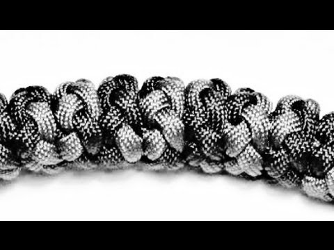 Paracordist How To Tie the Multi Strand Diamond Knot w/ Paracord (Pt. 2 ALICE Pack Handle)