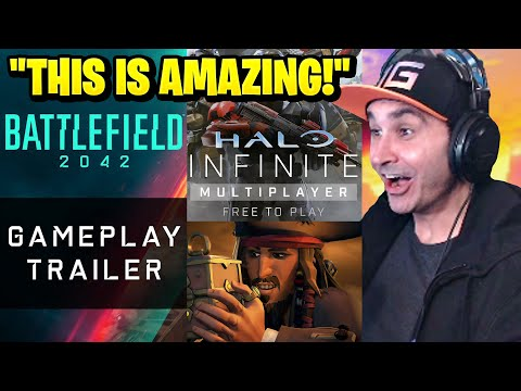 Summit1g Reacts: Battlefield 2042 Gameplay, Halo Infinite Gameplay, Sea of Thieves: A Pirate's Life