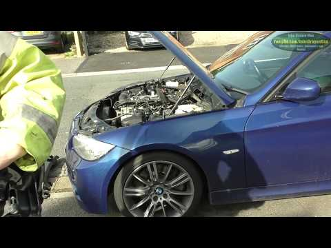 BMW inline 6 turbo diesel N57 EGR AGR swirl flap and intake manifold removal and clean