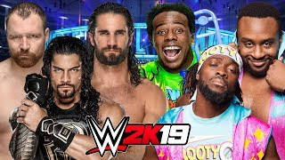 WWE 2K19 | THE SHIELD vs THE NEW DAY