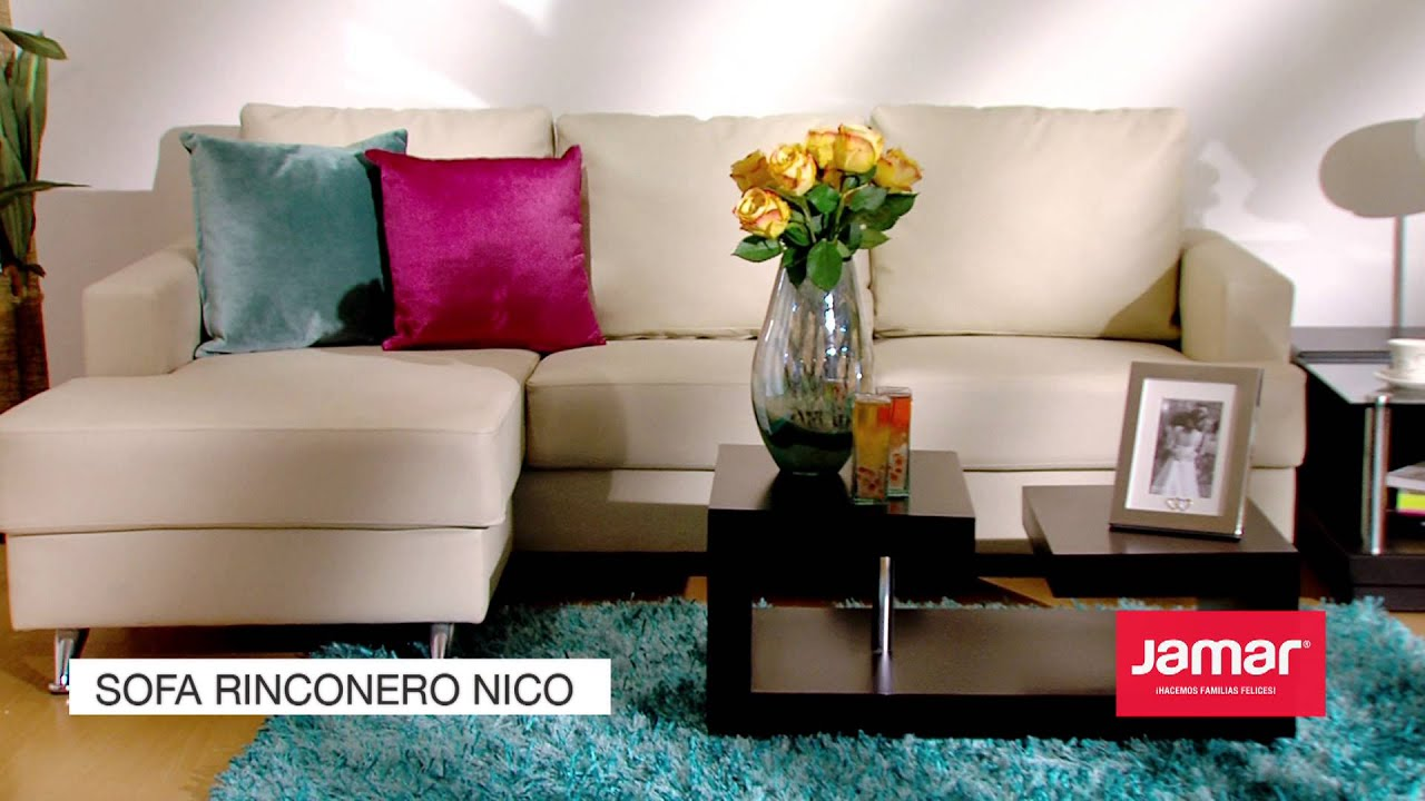 Jamar familias felices 2013 sofa rinconero nico youtube for Muebles felices