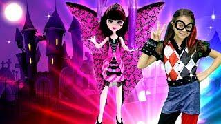 Видео для девочек - Вечеринка Хэллоуин с Монстер Хай