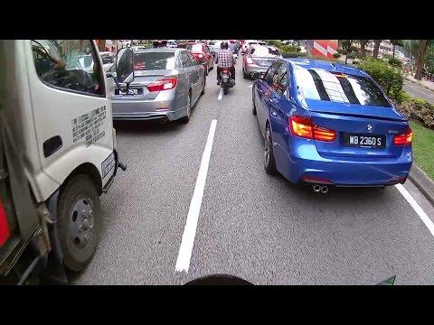 Kuala Lumpur City Riding 🏍★Aprilia Shiver★ ★Rush Hour★ ★Lane-Splitting★