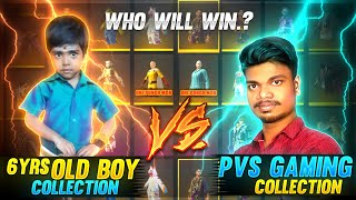 PVS மாமா🤣..! 6 year Old Boy Versus PVS GAMING Free Fire Best Funny Collection -Garena Free Fire
