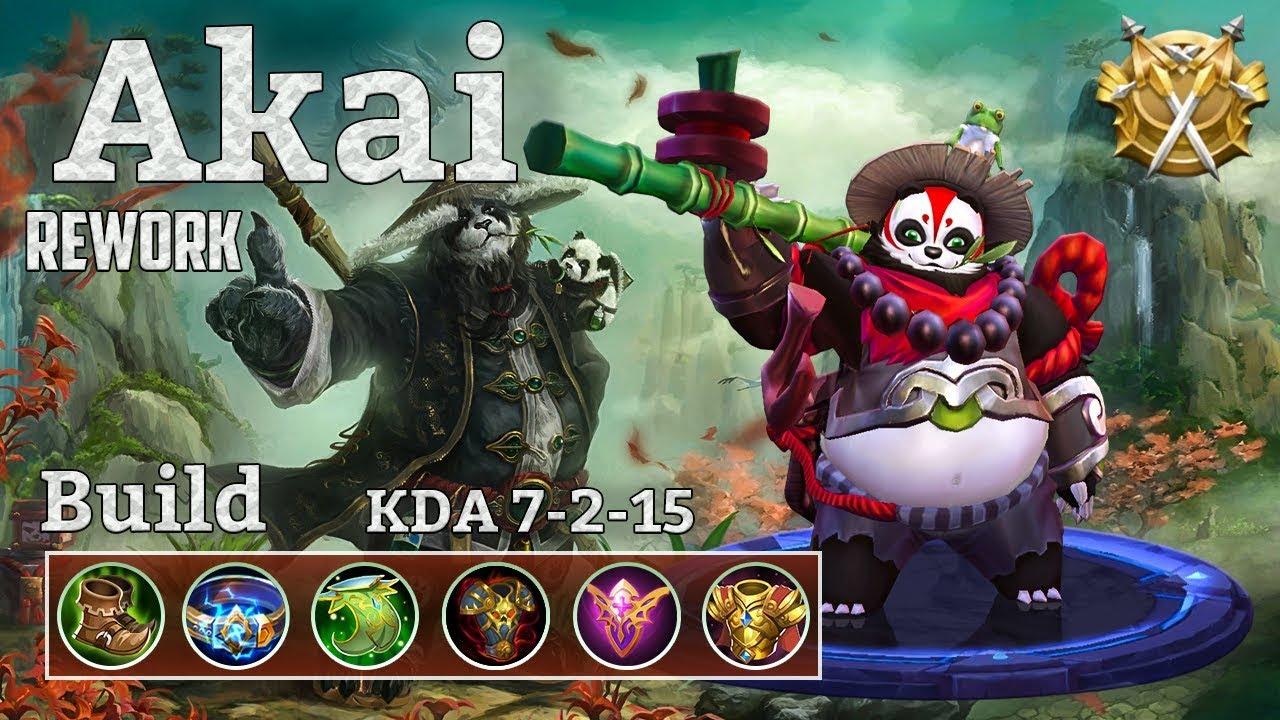 Mobile Legends: Akai Rework, Feel the Power of the New Panda!