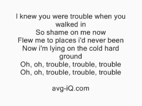 Download you mp3 swift song trouble taylor i were free knew