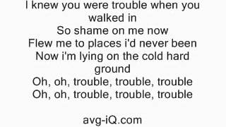 I Knew You Were Trouble by Taylor Swift acoustic guitar instrumental cover with lyrics
