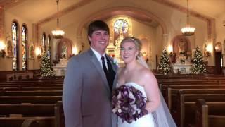Alex + Danielle Wedding Collage - Sebourn Video Services Wedding Videography