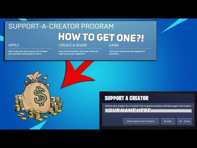 23 77 MB) [FORTNITE] How To Get A Support A Creator Code! / How To