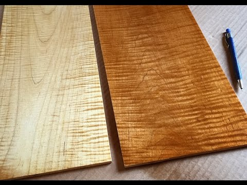 Finishing Curly Maple with Tom McLaughlin  YouTube