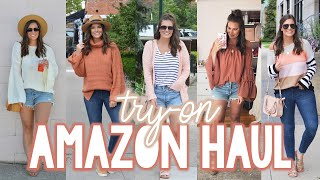 AMAZON TRY-ON HAUL - PRE-FALL 2019 | Sarah Brithinee