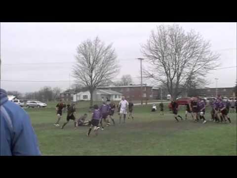 Carroll vs Angola rugby 2013