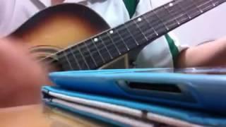 Không thể khóc trước mặt em - cover guitar