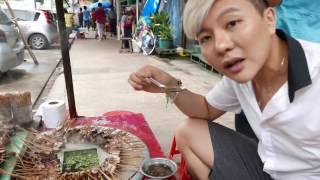 เที่ยวพม่า เดินหาของกินข้างทางแปลกๆ Myanmar Tour 3