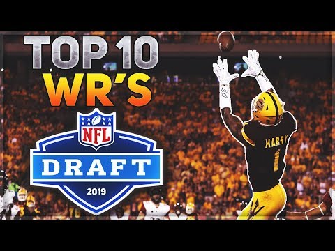 STACKED Wide Receiver Class -- The Next AJ Green? | Top 10 Wide Receivers In The 2019 NFL Draft