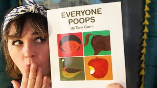 Everyone Poops by Taro Gomi - read by Lolly Hopwood