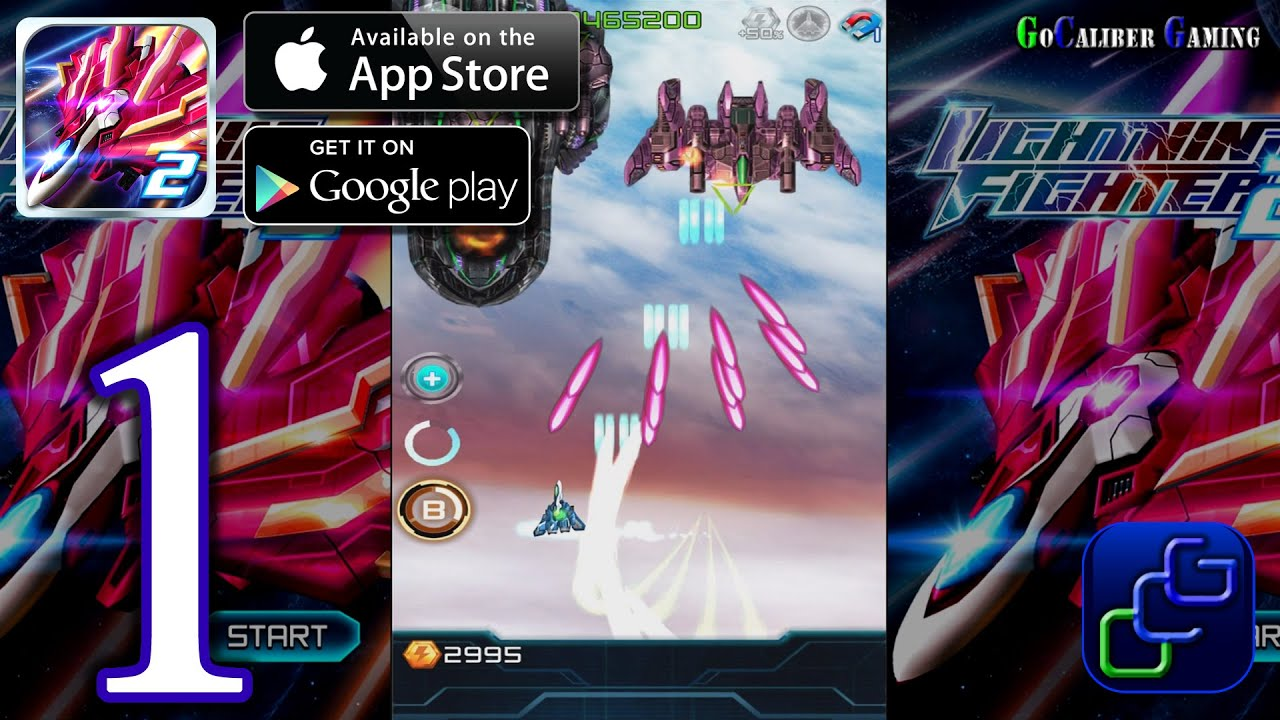 lightning fighter 2 android ios walkthrough gameplay part 1