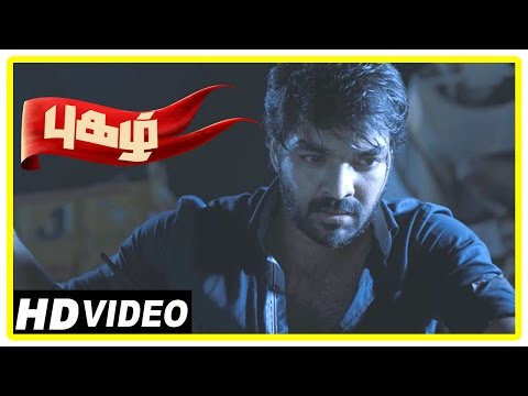 Pugazh Tamil Movie | Scenes | Marimuthu Attacks Jai in Festival | Karunas Attacked | Surabhi