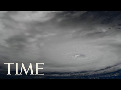 The International Space Station's External Cameras Capture Hurricane Irma In Action | TIME
