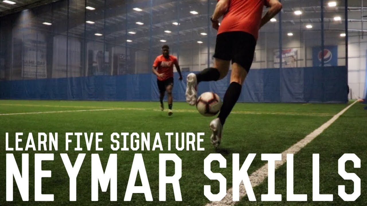 Learn These 5 Neymar Skills   Dribbling Tutorial and Neymar Silencio Boot Test