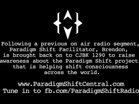 Paradigm Shift on Mainstream Radio. The global shift in consciousness.