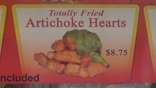 Oc Fair 2014 - Deep Fried Artichoke Hearts