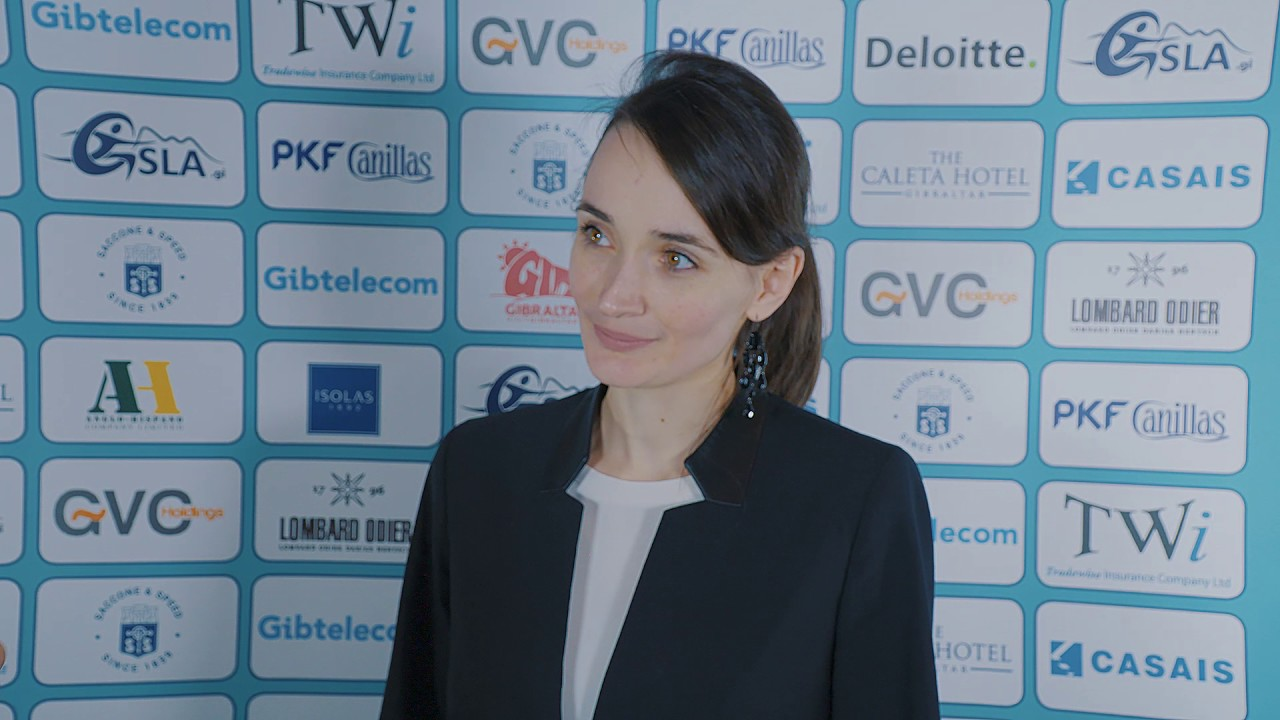 Round 6 Gibraltar Chess post-game interview with Kateryna ...