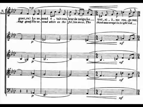 Maurice Ravel - Trois beaux oiseaux du paradis