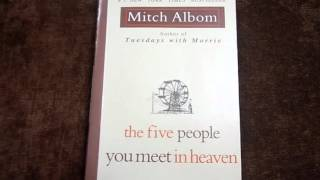 book review: the five people you meet in heaven كتاب في دقيقتين