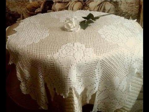 скатерть кухонная 3 часть филейное вязание