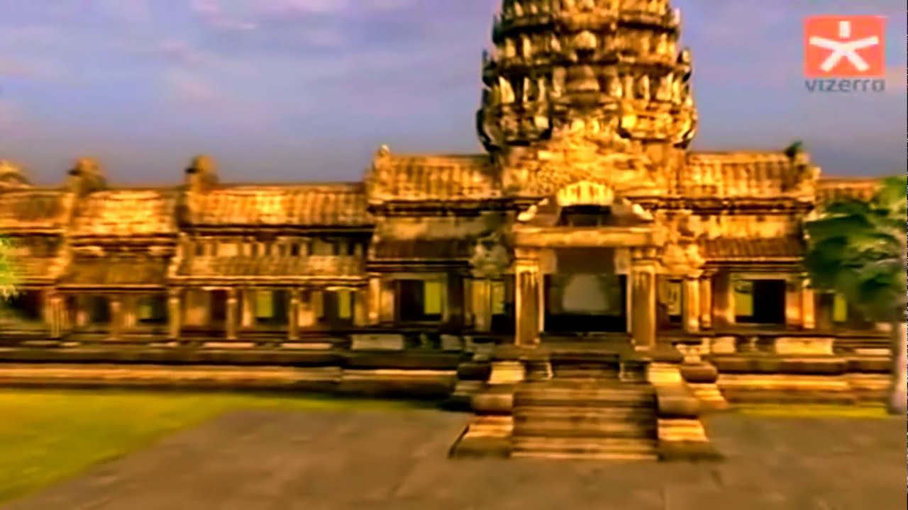 The Great Khmer Empire Hd Angkor Wat Temple Youtube