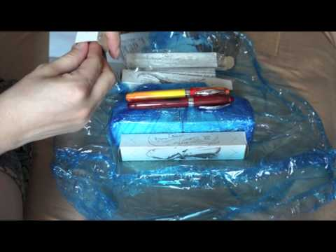 Unboxing 1st Mail Order Fountain Pen
