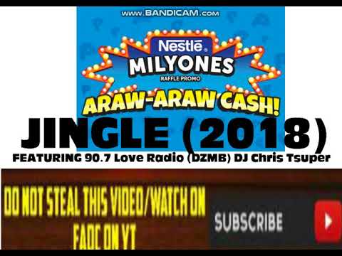 Nestle Milyones Raffle Promo (Araw-Araw Cash!) Jingle 2018 (feat.90.7 Love Radio DJ Chris Tsuper)